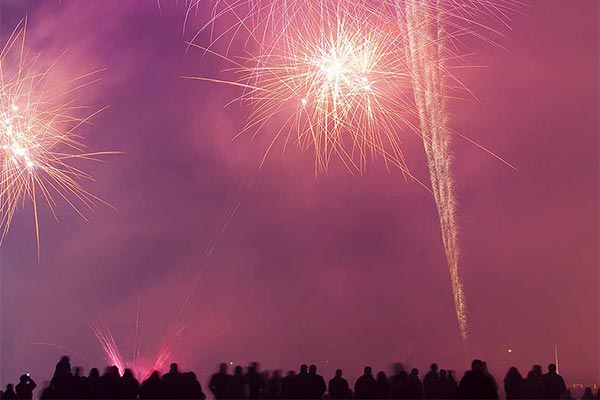 Happy New Year on Lake Como
